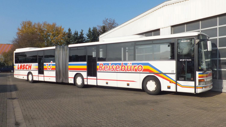 Gelenkbus, Setra 321 UL, 79 Sitzplätze