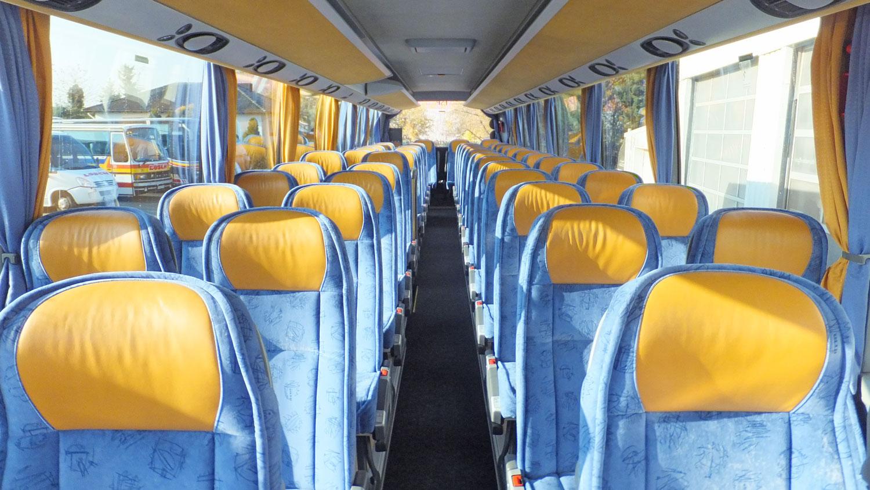 4*-Reisebus, Setra HDH 416, Bordküche, WC 51, Sitzplätze