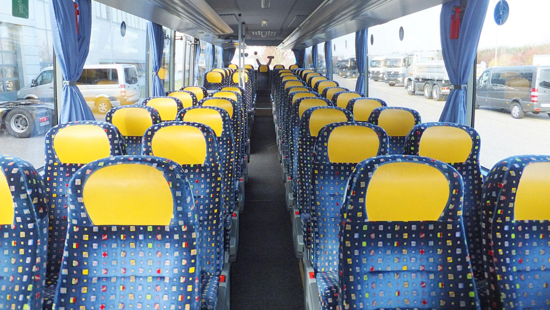 Überlandbus, Setra 415 UL, Kühlschrank, 53 Sitzplätze