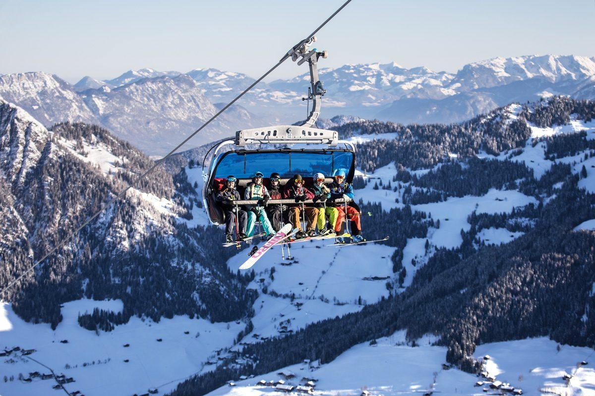 Alpbachtal Wildschönau Skilift