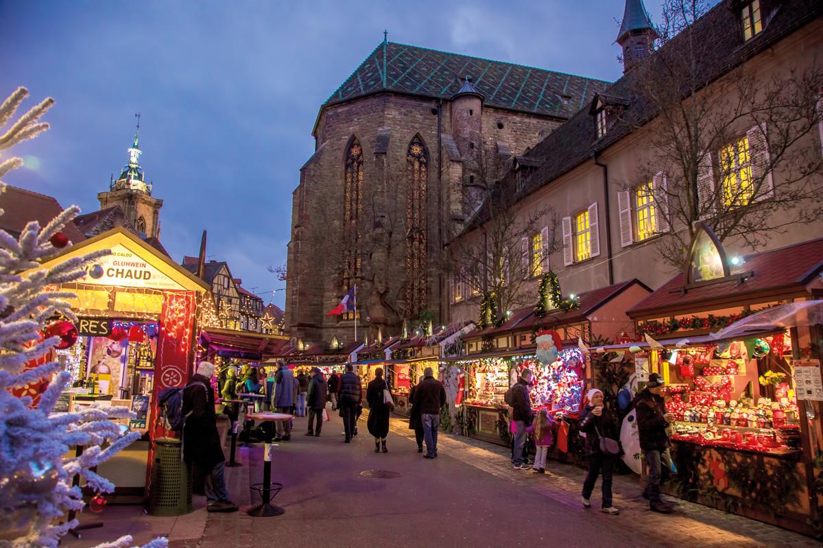 Colmar Weihnachtsmarkt.Colmar Weihnachtsmarkt Reisebüro Bustouristik Lösch