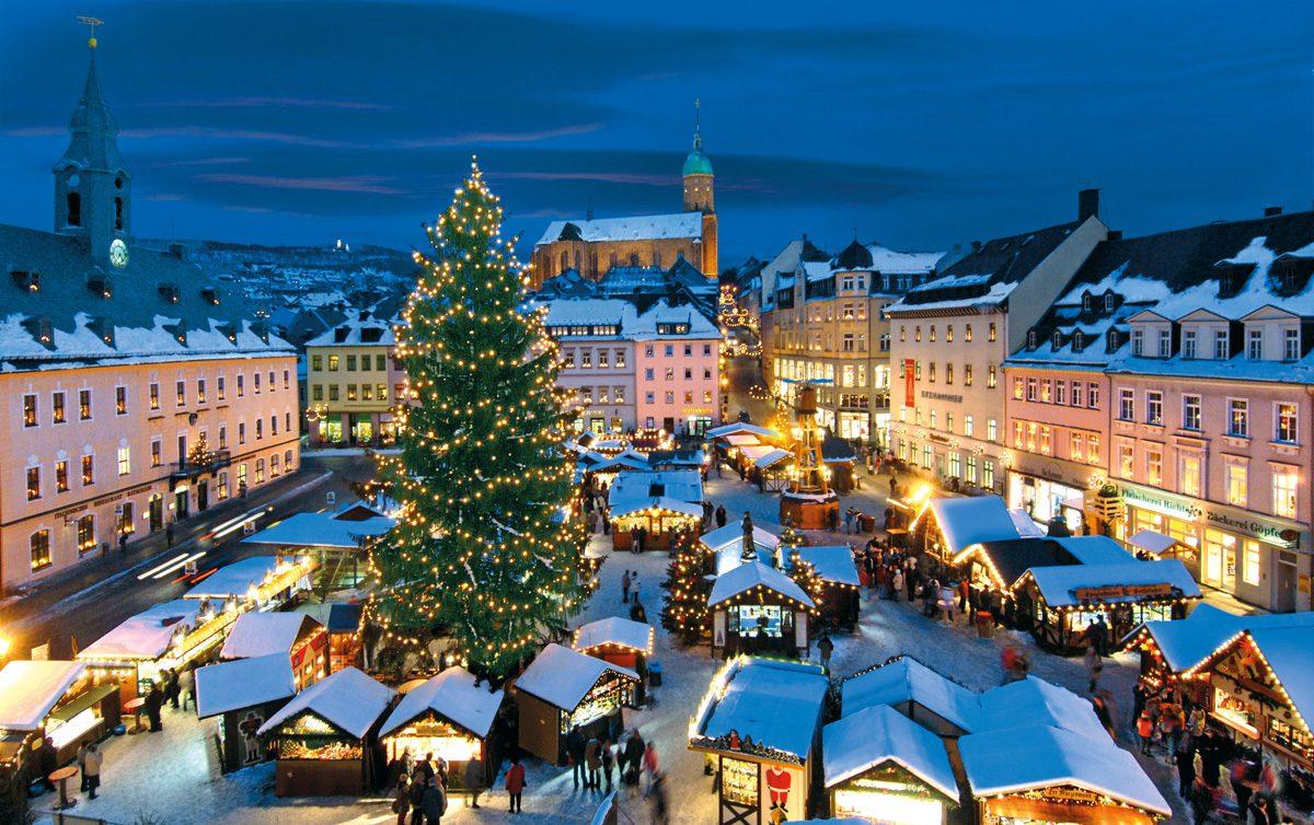 Erzgebirge Weihnachtsmarkt Annaberg