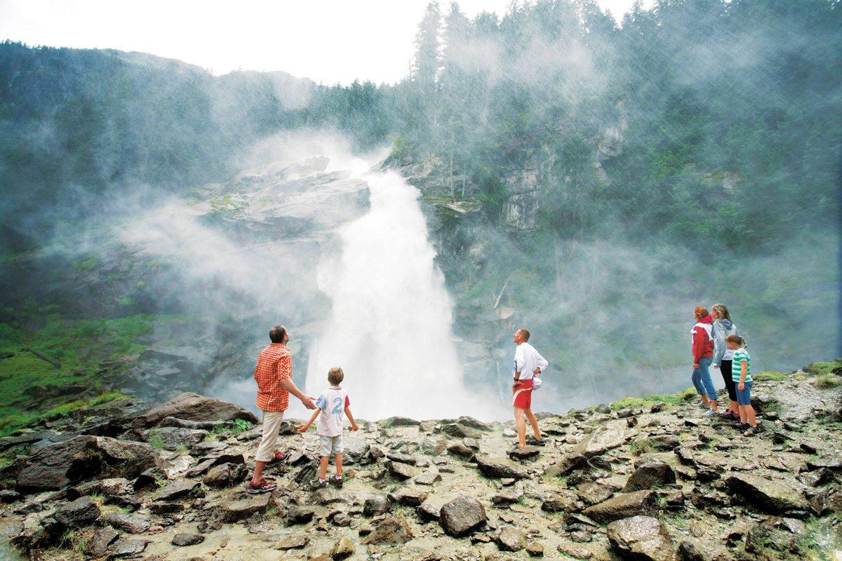 Hohe Tauern Krimmler Wasserfälle