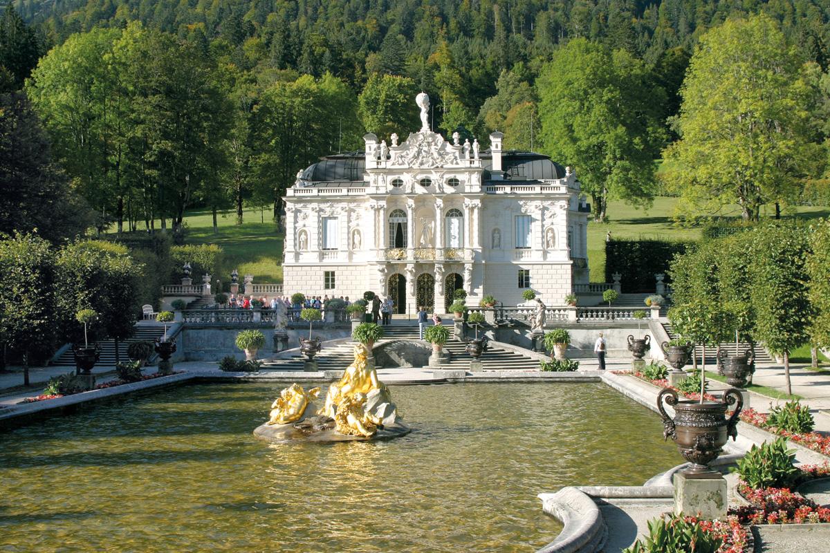 Lermoos Schloss Linderhof