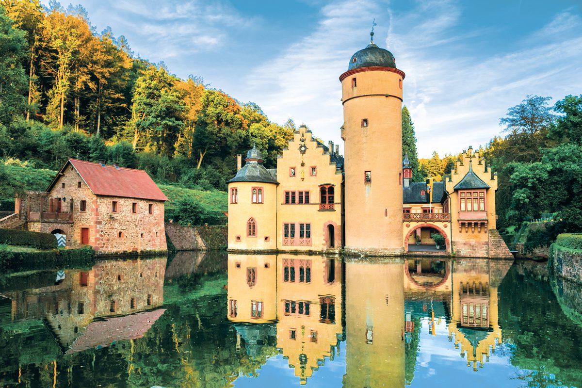 Spessart Schloss Mespelbrunn