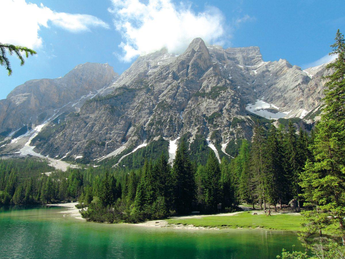 Südtirol Sommer Pragser Wildsee