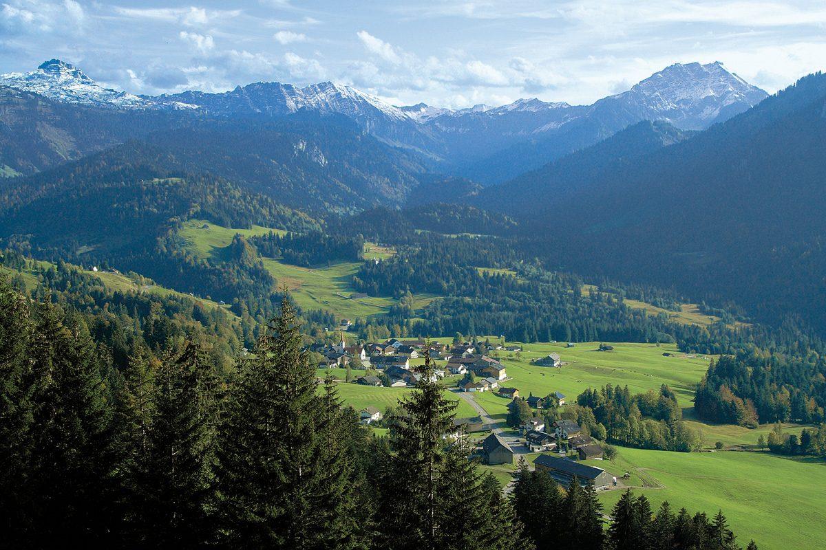 Bregenzer Wald, Sibratsgfäll
