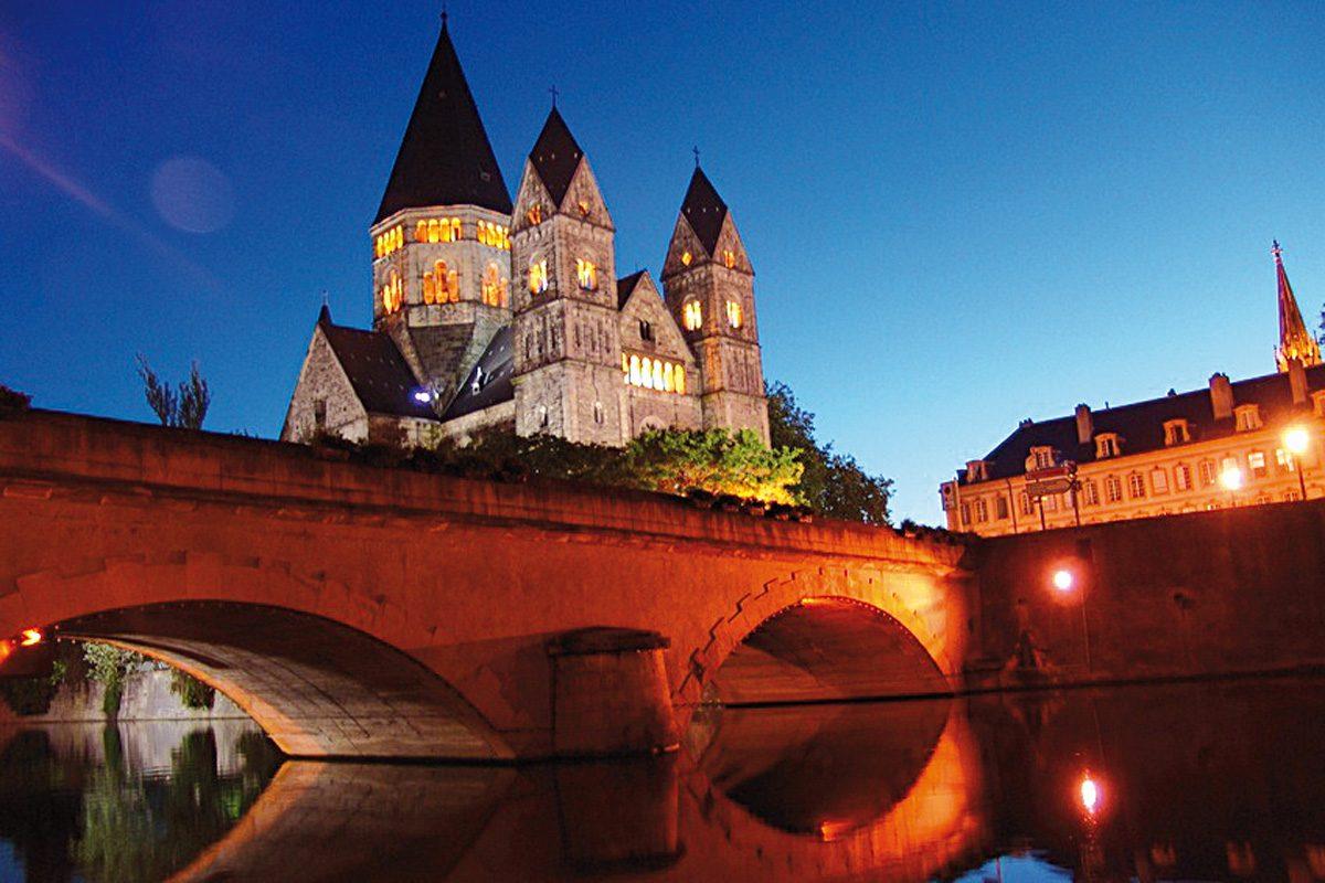 Die Moyen Pont in Metz
