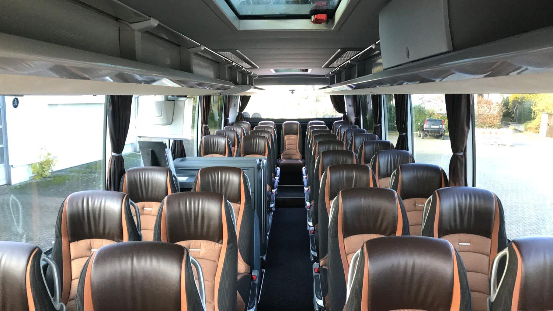 4*-Reisebus, Setra HD 511, Bordküche, WC 38, Sitzplätze