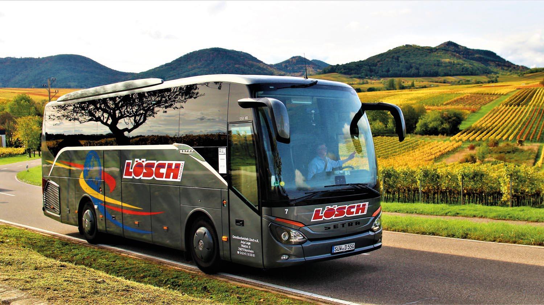 4*-Reisebus, Setra HD 511 ComfortClass, Bordküche, WC 38, Sitzplätze