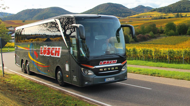 4*-Reisebus, Setra HDH 516 Topclass, Bordküche, WC, 51 Sitzplätze